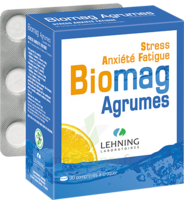 Lehning Biomag Comprimés à Croquer Agrumes B/90 à Saverne