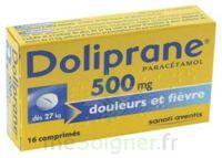 Doliprane 500 Mg Comprimés 2plq/8 (16) à Saverne