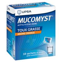 Mucomyst 200 Mg Poudre Pour Solution Buvable En Sachet B/18 à Saverne