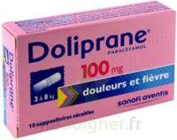 Doliprane 100 Mg Suppositoires Sécables 2plq/5 (10) à Saverne