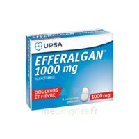 Efferalgan 1000 Mg Comprimés Pelliculés Plq/8 à Saverne