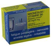 Magnesium/vitamine B6 Biogaran Conseil 48 Mg/5 Mg, Comprimé Pelliculé à Saverne