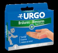Urgo Brulures-blessures Petit Format X 6 à Saverne