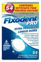 Fixodent Pro Comprimés Nettoyant Fraîcheur Longue Durée Pour Prothèse Dentaire B/54 à Saverne