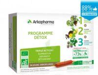 Arkofluide Bio Ultraextract Coffret Programme Détox 3x10 Ampoules/10ml à Saverne
