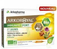 Arkoroyal Immunité Fort Solution Buvable 20 Ampoules/10ml à Saverne