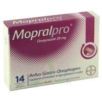 Mopralpro 20 Mg Cpr Gastro-rés Film/14 à Saverne