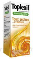 Toplexil 0,33 Mg/ml Sans Sucre Solution Buvable 150ml à Saverne