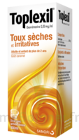 Toplexil 0,33 Mg/ml, Sirop 150ml à Saverne