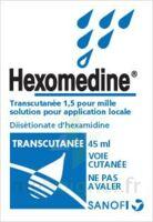 Hexomedine Transcutanee 1,5 Pour Mille, Solution Pour Application Locale à Saverne