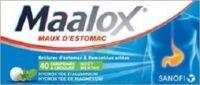 Maalox Hydroxyde D'aluminium/hydroxyde De Magnesium 400 Mg/400 Mg Cpr à Croquer Maux D'estomac Plq/40 à Saverne