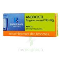 Ambroxol Biogaran Conseil 30 Mg, Comprimé Sécable à Saverne
