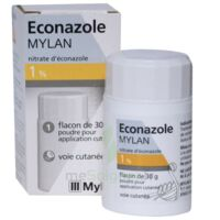 Econazole Mylan 1 % Pdr Appl Cut Fl/30g à Saverne