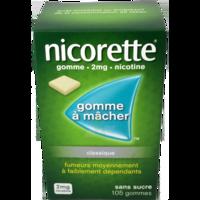 Nicorette 2 Mg Gom à Mâcher Médic Sans Sucre Menthe Fraîche Plq/105gom à Saverne