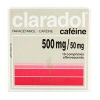Claradol Cafeine 500 Mg/50 Mg, Comprimé Effervescent à Saverne