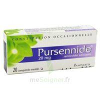 Pursennide 20 Mg, Comprimé Enrobé à Saverne