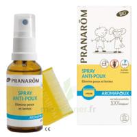 Pranarôm Aromapoux Bio Spray Anti-poux 30ml+peigne à Saverne