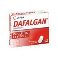 Dafalgan 1000 Mg Comprimés Pelliculés Plq/8 à Saverne