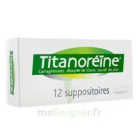 Titanoreine Suppositoires B/12 à Saverne