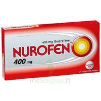 Nurofen 400 Mg Comprimés Enrobés Plq/12 à Saverne