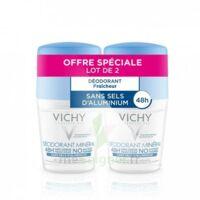 Vichy Déodorant Sans Sels D'aluminium 48h 2 Billes/50ml à Saverne