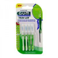 Gum Trav - Ler, 1,1 Mm, Manche Vert , Blister 4 à Saverne