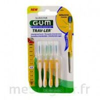 Gum Trav - Ler, 1,3 Mm, Manche Jaune , Blister 4 à Saverne