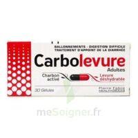 Carbolevure Gélules Adulte Plq/30 à Saverne