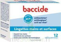 Baccide Lingette Désinfectante Mains & Surface 12 Pochettes à Saverne