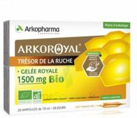 Arkoroyal Gelée Royale Bio 1500 Mg Solution Buvable 20 Ampoules/10ml à Saverne