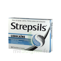 Strepsils Lidocaïne Pastilles Plq/24 à Saverne