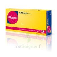 Oligosol Lithium Solution Buvable En Ampoule Ou En Récipient Unidose 28amp/2ml à Saverne