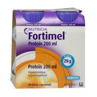 Fortimel Protein Nutriment Caramel 4 Bouteilles/200ml à Saverne