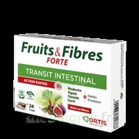 Ortis Fruits & Fibres Forte Cube à Mâcher B/12 à Saverne