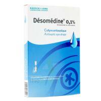 Desomedine 0,1 % Collyre Sol 10fl/0,6ml à Saverne