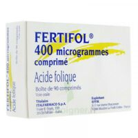Fertifol 400 µg Cpr Plq/90 à Saverne