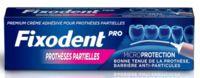 Fixodent Pro Crème Adhésive Pour Prothèse Partielle T/40g à Saverne