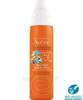 Avène Eau Thermale Solaire Spray Enfant 50+ 200ml à Saverne