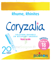 Boiron Coryzalia Solution Buvable Unidose B/20 à Saverne