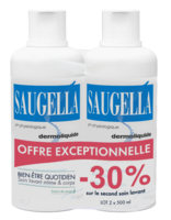 Saugella Emulsion Dermoliquide Lavante 2fl/500ml à Saverne