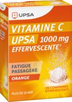 Vitamine C Upsa Effervescente 1000 Mg, Comprimé Effervescent à Saverne