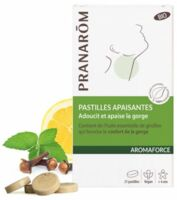 Pranarôm Aromaforce Pastilles Apaisantes+ B/21 à Saverne