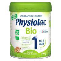 Physiolac Bio 1 Lait En Poudre B/800g à Saverne